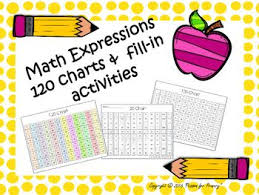 Math Expressions 120 Chart Math Expressions 120 Charts And Activities Classroom Math