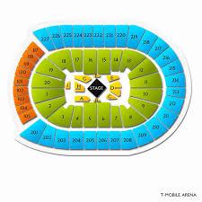 Kauffman Stadium Seating Chart T Mobile Arena Concert