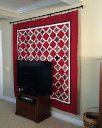 amazing hang blanket on wall interior designing home ideas metallic macrame hanging for insulation how to a
