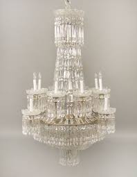 exceptional early 19th century waterford crystal eighteen light chandelier