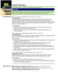 Teacher Resume Pdf Best Letter Sample Resume Pdf Free Download