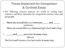 thesis statement generator compare and contrast persuasive essay essay lab shmoop thesis statement generator compare and contrast