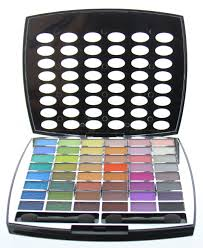 br beauty revolution glamour makeup kit 43 eyeshadow 9 blush 6 lip gloss walmart