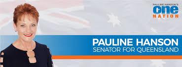 Image result for Senator Pauline Hanson