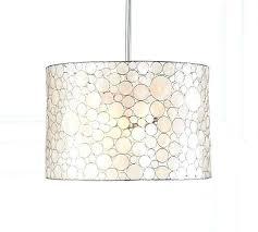capiz pendant light ing for west elm diy shell