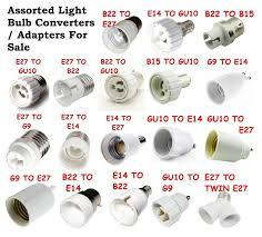 Different Light Socket Types Light Bulb Socket Adapters Converters Various Types Junk Mail