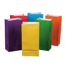Assorted Colored Paper Lunch Bags L Duilawyerlosangeles