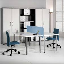 home office storage systems. Plain Storage Presenting Modular Rectangular Home Office Table With Blue Plastic  Barrier And Low Back Swivel Chair Also Storage System For 2 Intended Systems E