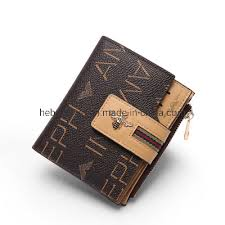 <b>China Small Brand Leather</b> Short Lady Buckle Wallet - <b>China</b> Card ...