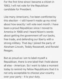 arnold on as proud as i am to label myself a republican arnold on as proud as i am to label myself a republican there is one label that i hold above all else american my full statement