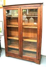 glass door bookcase cabinet bookcase with glass glass door bookcase cabinet glass door bookcase cabinet vintage