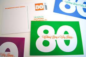 milestone birthday idea printable birthday postcards for 80th 70th 75th 65th 60th 50th have
