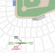 Target Field Concert Seating Chart With Seat Numbers Schemes Collection