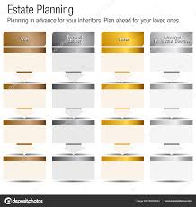 Silver Advanced Chart Clipart Estate Planning Estate Planning Chart Bronze