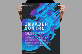 Poster Template For Party Club Nightclub Music Event