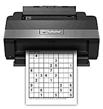 PrintMySudoku - free printable sudokus (hard)