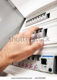 fuse box stock images royalty images vectors shutterstock closeup view of a box automatic fuses