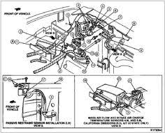 pin by victor rodriguez on ford econoline dmc 1992 pinterest 1992 Ford F150 Smog Pump Diagram ford f150 engine diagram 1989 loose ground? 80 96 ford bronco Ford Vacuum Line Diagram