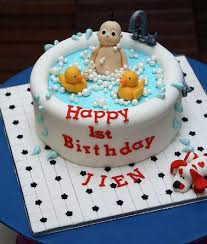 Happy Birthday Baby Cake Name With Photo Doll Party Babyplanet