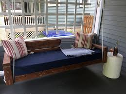 hanging daybed swing. Modren Hanging When We Left Off With The DIY Hanging Daybed Swing Itself Had Been  Constructed But That Was It I Mentioned Would Be Painting It  For Hanging Daybed Swing E
