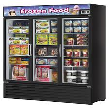 Stand Up Display Freezer Turbo Air TGF100F 100 Cubic Feet Glass Door Freezer Ships Free 13