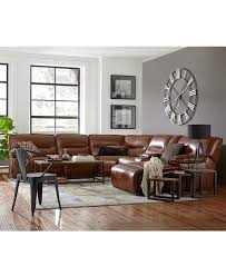 macys leather sectional sofa. Beckett Leather Power Reclining Sectional Sofa Collection, Created For Macy\u0027s - Furniture Macys C