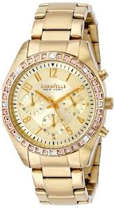 <b>Caravelle New York</b> by Bulova Women's 44L151 Analog Display ...