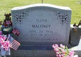 MALONEY, JAMES FLOYD - Benton County, Arkansas | JAMES FLOYD MALONEY -  Arkansas Gravestone Photos