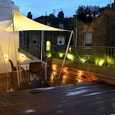 rooftop lighting. City Roof Terrace Rooftop Lighting