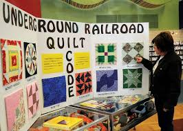 Quilt blocks tell story of freedom | Local News | enidnews.com & Freedom Quilt Display_1_BV.jpg Adamdwight.com