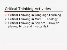 Critical Thinking Math Problems  Examples and Activities Study com