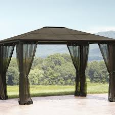 essential garden gazebo. Essential Garden Replacement Net For Mission Creek Hardtop Gazebo I