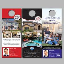 door hanger design real estate. Door Hangers. Real Estate Hanger Design N