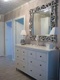 bedroom with mirrored furniture. hmm i wonder of could repaint our bedroom furniture white with mirrored