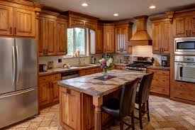 rustic cherry kitchen cabinets.  Kitchen Rustic Cherry Traditionalkitchen And Kitchen Cabinets E