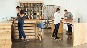 image of idea standing desk treadmill style