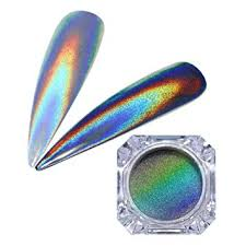 BORN PRETTY 1g Holographic Powder Nail Glitter ... - Amazon.com