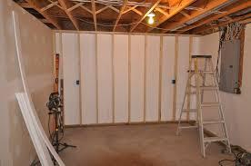 basement concrete wall ideas. Unique Basement Image Of Finishing Basement Ideas On Concrete Wall A