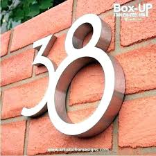 decorative house number signs metal house number plaque house number signs metal house number signs house decorative house number