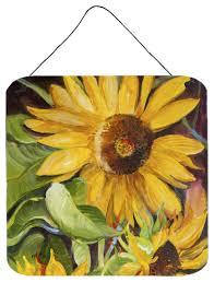 sunflowers wall door hanging prints