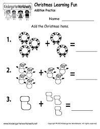 Printable Math Worksheets For Kindergarten Addition And ...