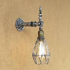 edison bulb wall sconces vintage wall light industrial wall sconce bulb wall lamp retro silver metal