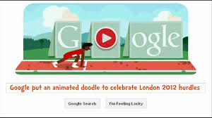 google doodle interactive. Brilliant Doodle London 2012 Hurdles  An Interactive Animated Google Doodle  Game YouTube Intended