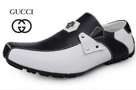gucci shoes black and white. gucci men casual black white shoes and .