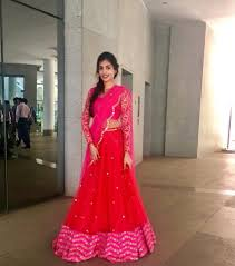 Full Sleeve Lehenga Blouse Design Stunning Red Color Designer Lehenga And Blouse With Blush