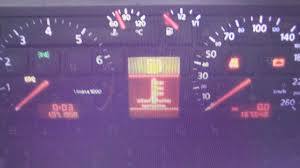 2004 Audi A4 Abs And Esp Light On Audi A4 B5 Abs Warning Light Dash Lamp How To Remove