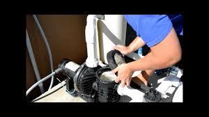 pool pump repair part 1 of 3 wmv