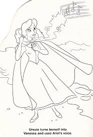Only poor unfortunate souls will miss out on using their favorite colors to bring this favorite villain to life. Walt Disney Coloring Pages Vanessa Personaggi Disney Foto 33144262 Fanpop Page 7