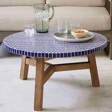 graceful ceramic outdoor side table jet setter water fountain nice surprising mosaic tile coffee top accent