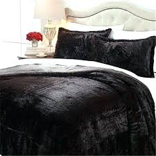 king size fur comforter fur bed set a by landau faux fur comforter set mink queen king size fur comforter